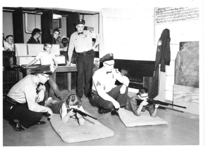 Community Firearms Safety Training, circa 1955