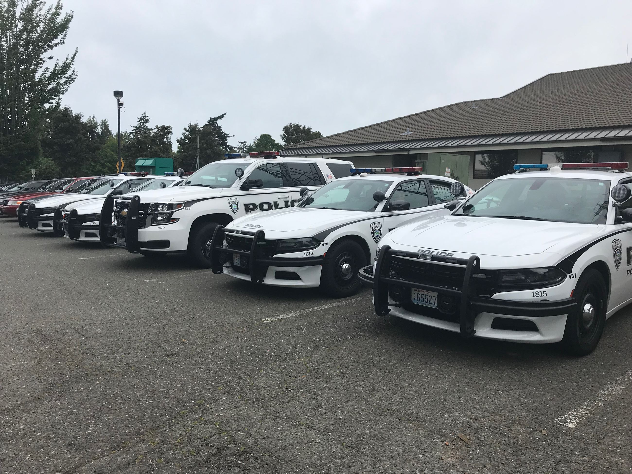 Police Department Squad Cars