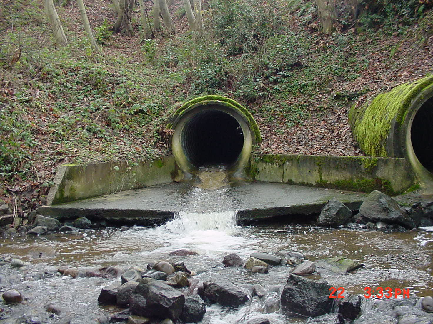 creek culvert
