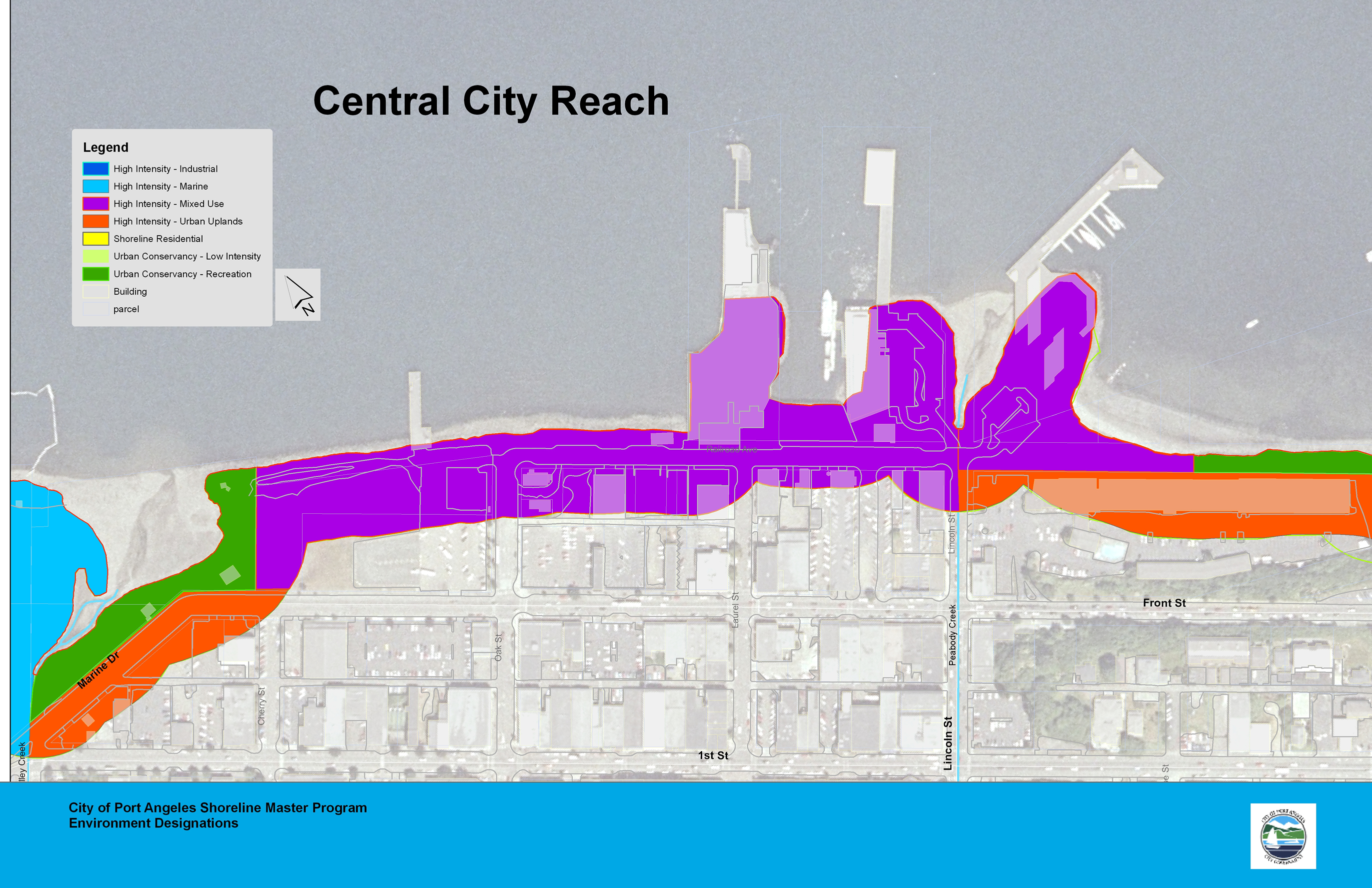 Central City Reach Map