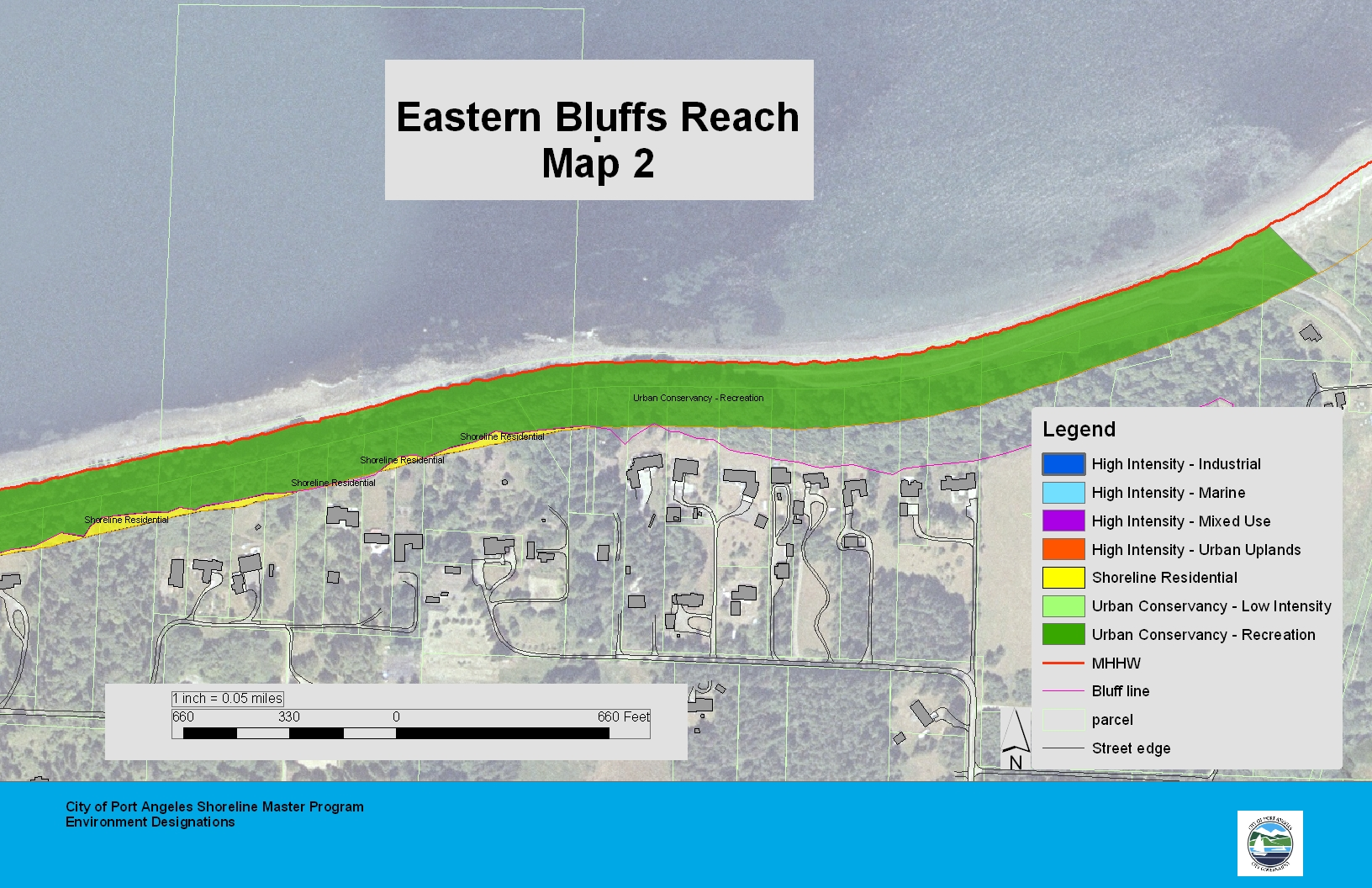 Eastern Bluffs Reach Map 2