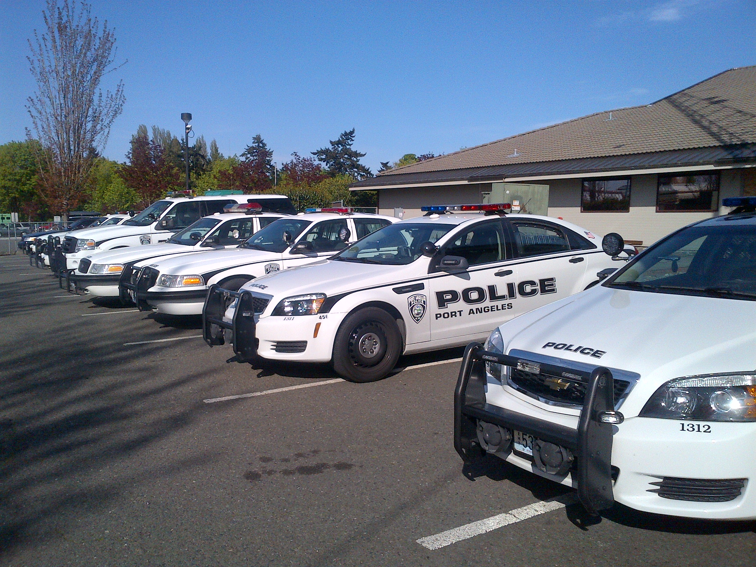 Port Angeles Patrol Cars